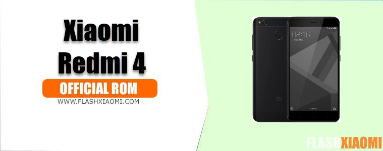 Install MIUI ROM for Xiaomi Redmi 4
