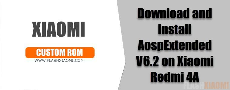 AospExtended V6.2 on Xiaomi Redmi 4A