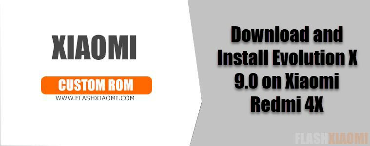 Evolution X 9.0 on Xiaomi Redmi 4X
